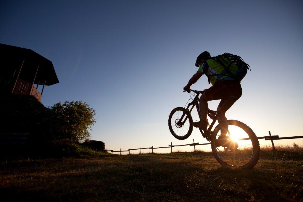 Mit dem Rad auf den Berg - Bergwelt Kandel